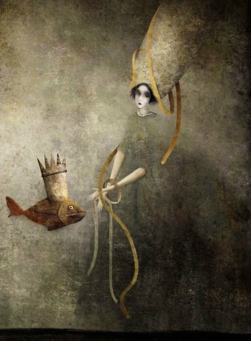 Gabriel Pacheco 1973 - Mexican Surrealist Visionary painter - Tutt'Art@ (6)