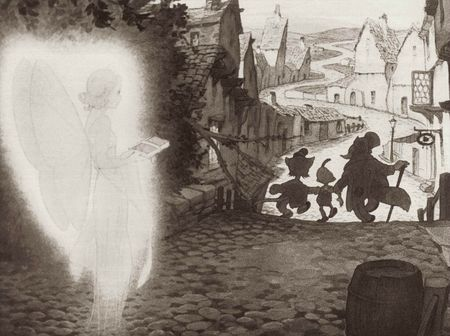 Gustaf Tenggren - Pinocchio 08