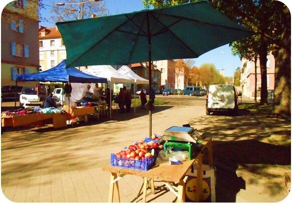 Le petit marché du Drouot