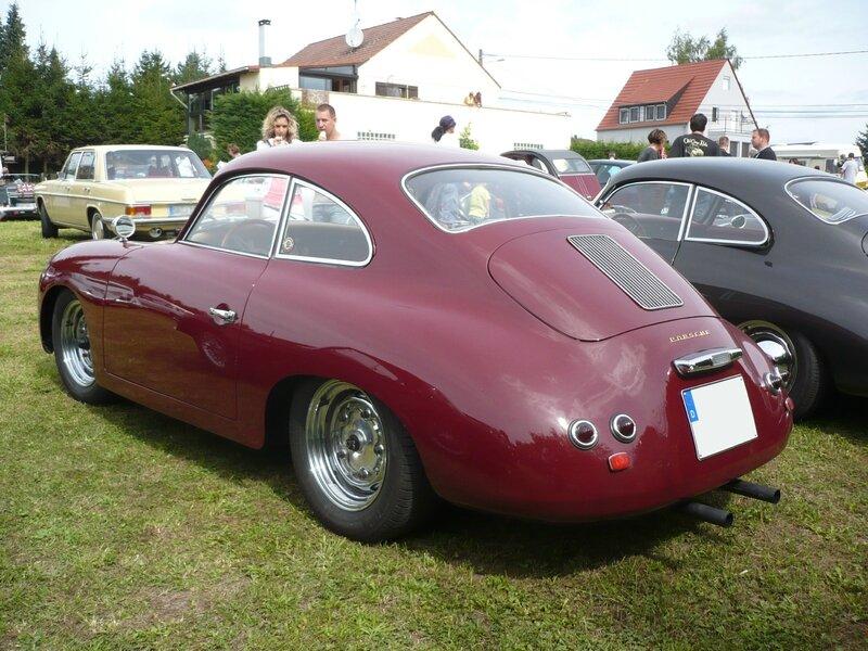 PORSCHE 356A 1600 coupé 1956 Hambach (2)