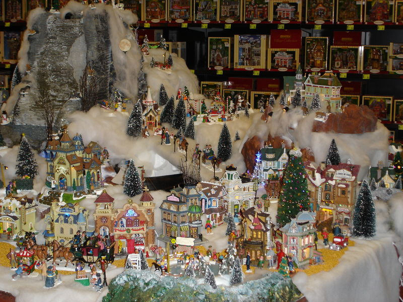 R alisation truffaut villeparisis no l 2007 album photos noel miniature - Village de noel miniature ...