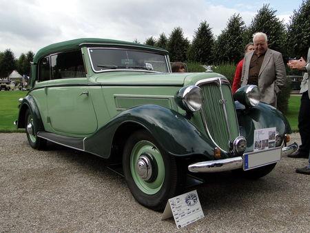 WANDERER W50 Cabriolet 1935 Classic Gala de Schwetzingen 2009 1