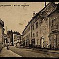 La rue des chaprais autrefois