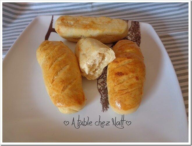 Petits pains moelleux aux fromages