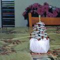 sapin blanc gouttes rouge