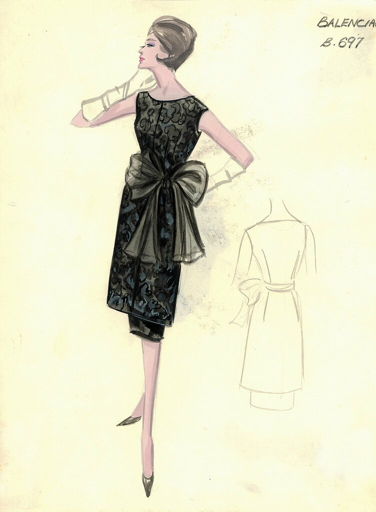 Bergdorf Goodman Archives. Coctail & Evening Dresses: Balenciaga