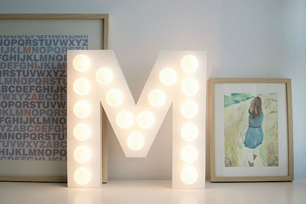 M illuminé