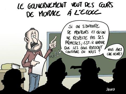 L'entourage du candidat, prompt à devancer les désirs de M. Sarkozy, veut toujours plus de tout...