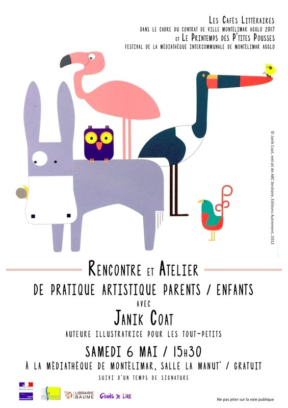 Flyer rencontre atelier Janik Coat (1)