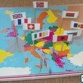 Fabrication du jeu des drapeaux