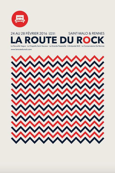 La Route du Rock - collection hiver #11 - Rennes & Saint-Malo / du 24 au 28 février 2016