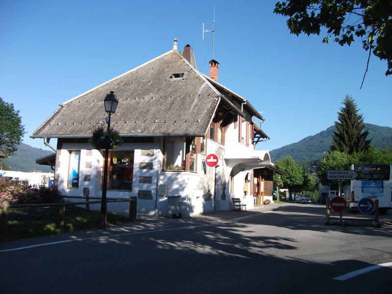 Samoëns nouvelle gare (Haute-Savoie)