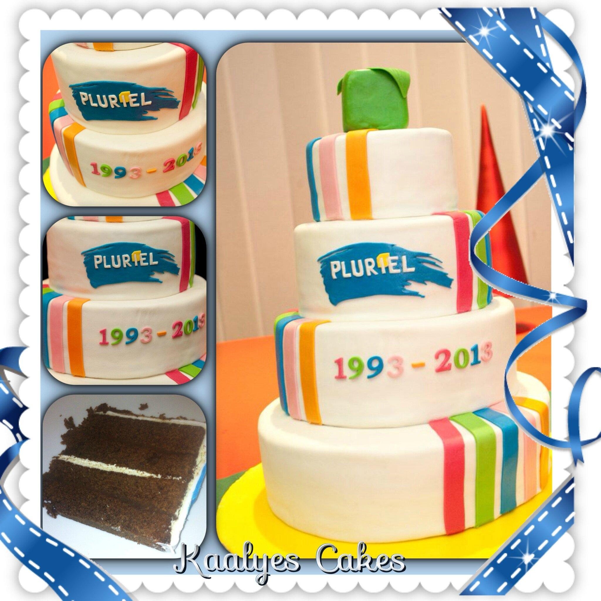 Gâteau 20 ans de Pluriel Consultants