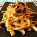 Noodles giapponesi con funghi (di dubbia provenienza...)