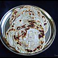 Parotta ( galette feuilletée)
