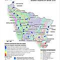 Info/météo: point sur la situation hydrologique en france et en lorraine au 01er février 2018
