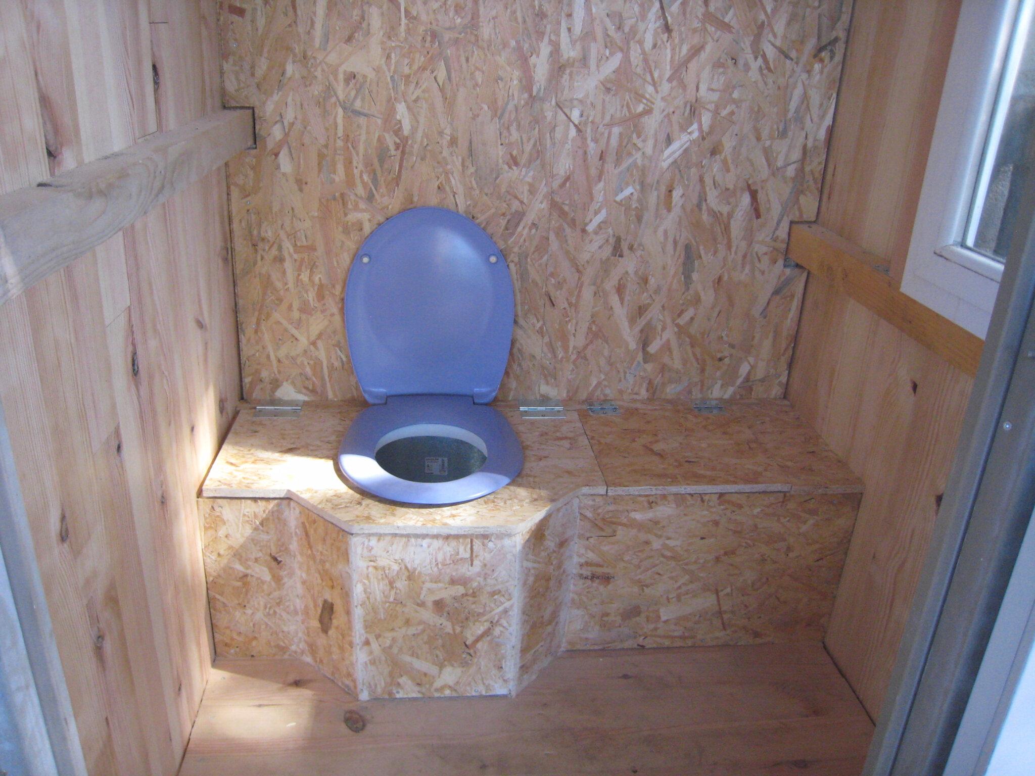 Des toilettes sèches au fond du jardin - créations et bricolages d\'Oli