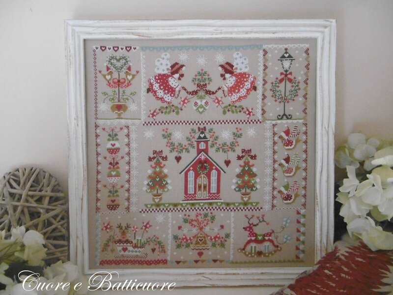 christmas in quilt 1