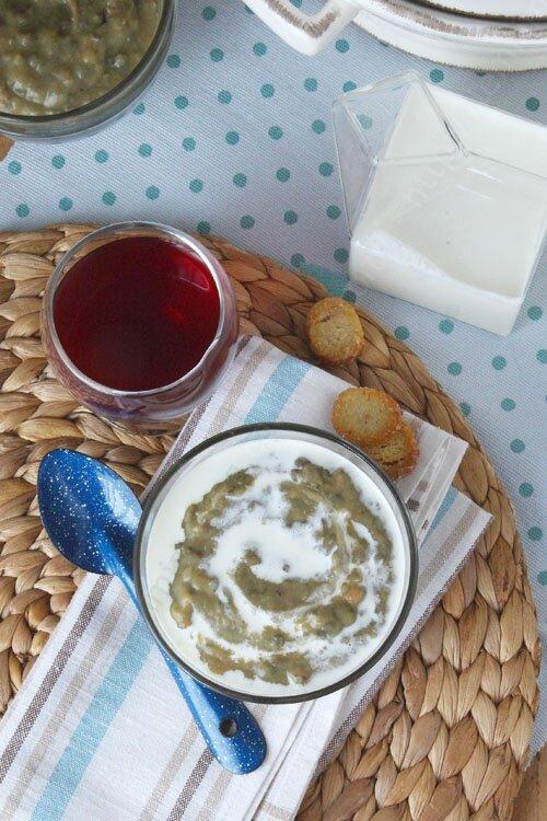 recette soupe veloute de lentilles saucisse 0001 LE MIAM MIAM BLOG
