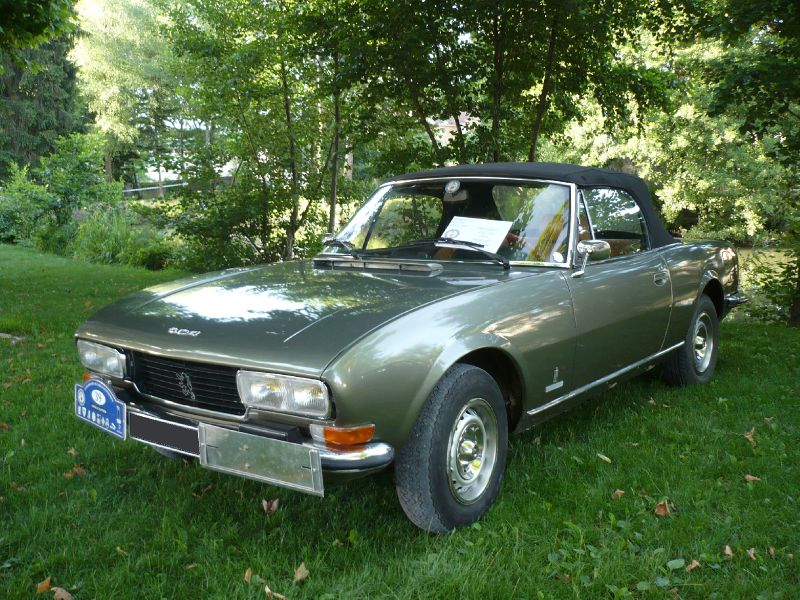 peugeot 504 v6 convertible 1975 lons le saunier 1 photo de 053 9e mobil 39 r tro lons le. Black Bedroom Furniture Sets. Home Design Ideas