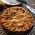 Gâteau amandine aux pommes, sans gluten et sans lactose