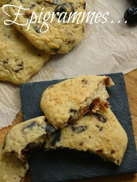 Cookies Haricots Olives Noires 04
