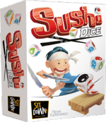 Boutique jeux de société - Pontivy - morbihan - ludis factory - Sushi dice