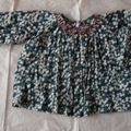 Blouse smockée little girl 1