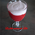 Verrine fraise /chantilly au mascarpone