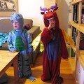 dino et dragon, fait pour s'entendre ?