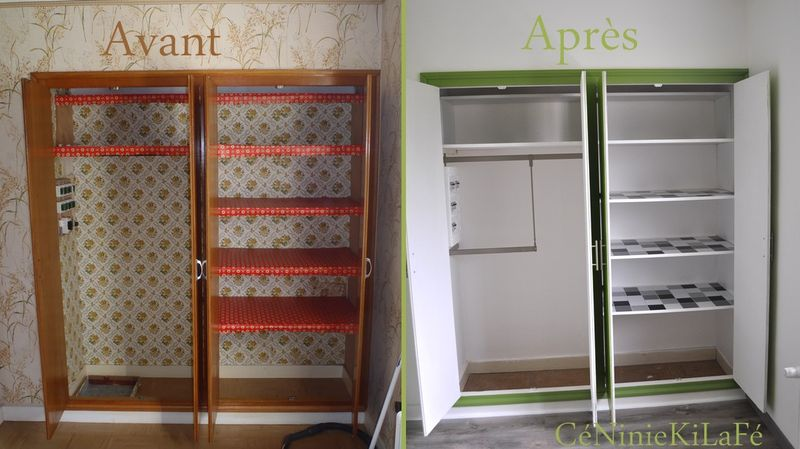 Relooking chambre gar on et placard c niniekilaf for Petit placard cuisine
