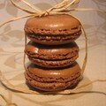 Macarons chocolat 1