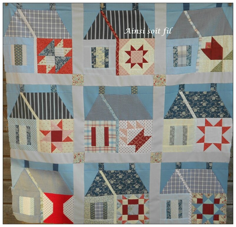 Quilt Shoolhouse