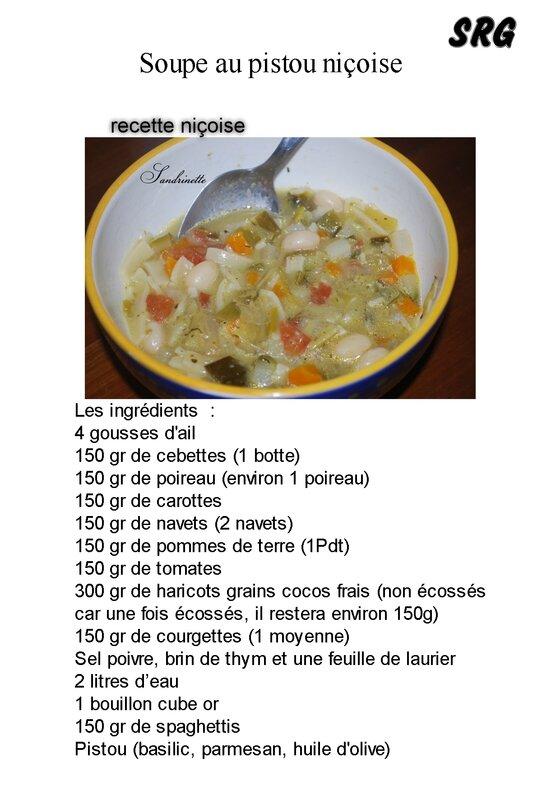 Soupe au pistou niçoise (page 1)