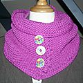 snood fushia 30 octobre 001