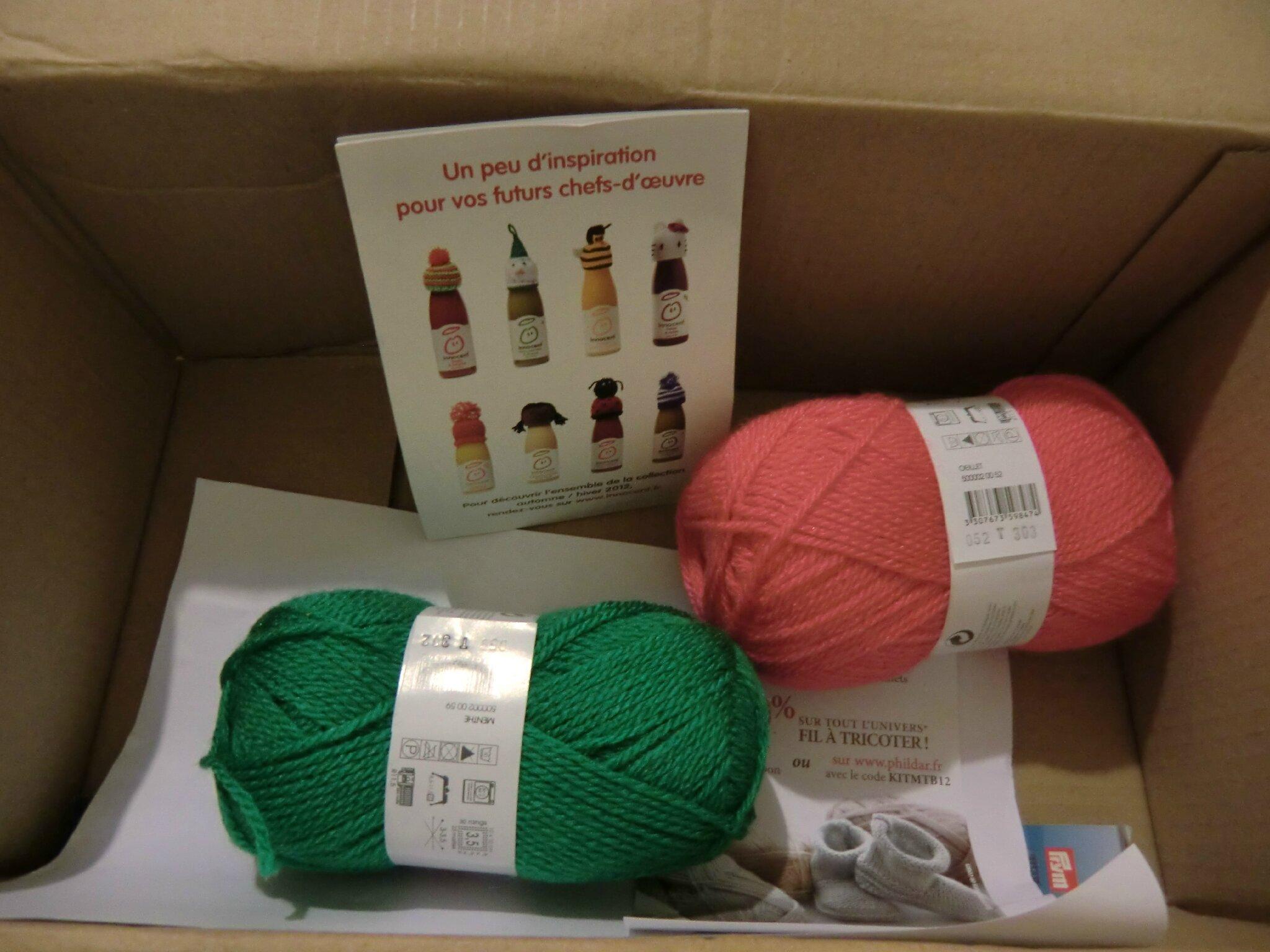 kit tricot innocent