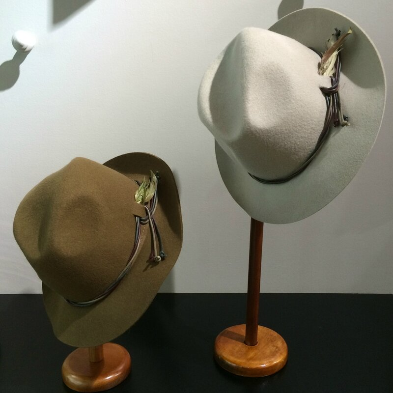 fin septembre 2015 Boutique Avant-Après 29 rue Foch 34000 Montpellier chapeaux laine GI'N'GI made in ITALY TOSCANE