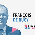 Dimanche en politique sur france 3 n°44 : francois de rugy