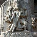 Sculture d'un temple de Pathan