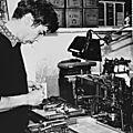 Thierry bouchard, typographe, poète, imprimeur, éditeur...