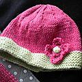 Diy - le trousseau de naissance au tricot pour bébé fille