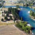 La rivière qui alimente le lac