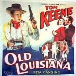 old louisiana affiche