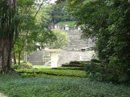 Bonampak - Entrance
