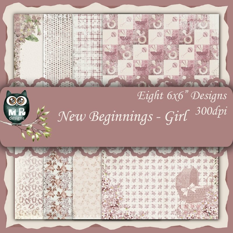 New Beginnings - Girl Front Sheet
