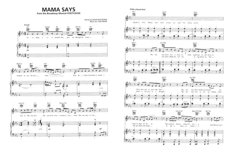 Mama says 01