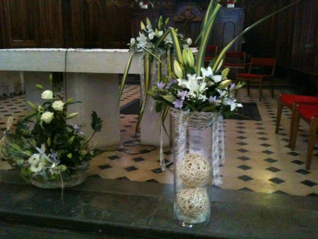 Pin Eglise Décoration Florale Mariage Et Decoration Zlub on Pinterest