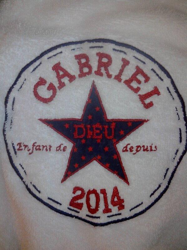 Cape de bain Gabriel