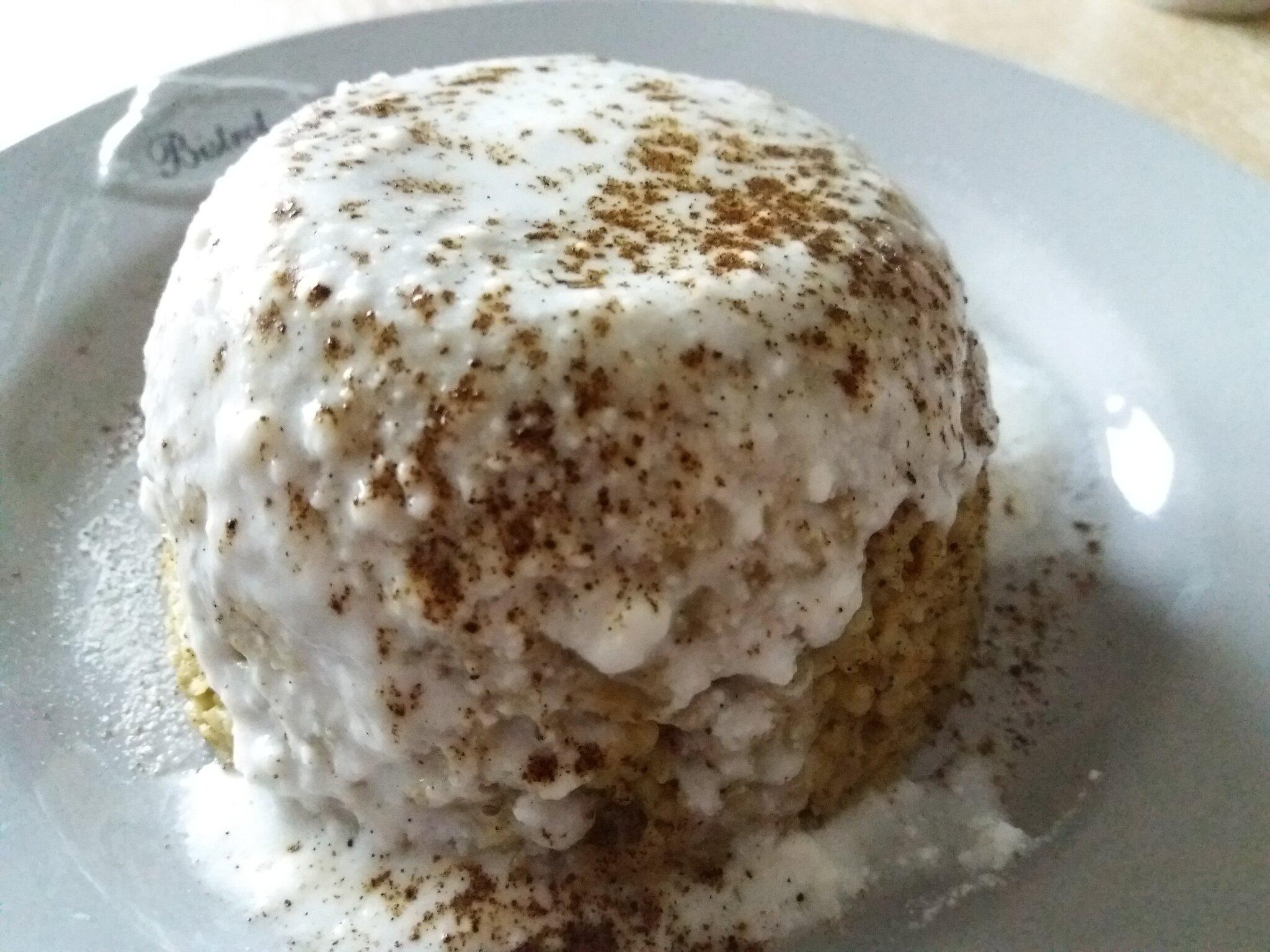 Nouvelle variante du bowlcake : tout vanille