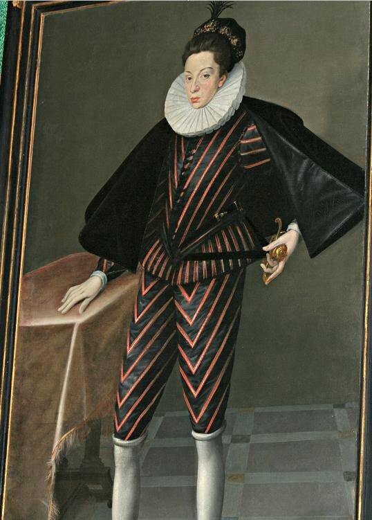 Le prince de Valois, Poggio a Caiano